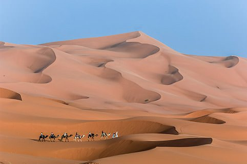 The dunes of Morocco