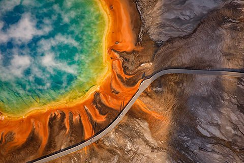 Yellowstone at sunrise